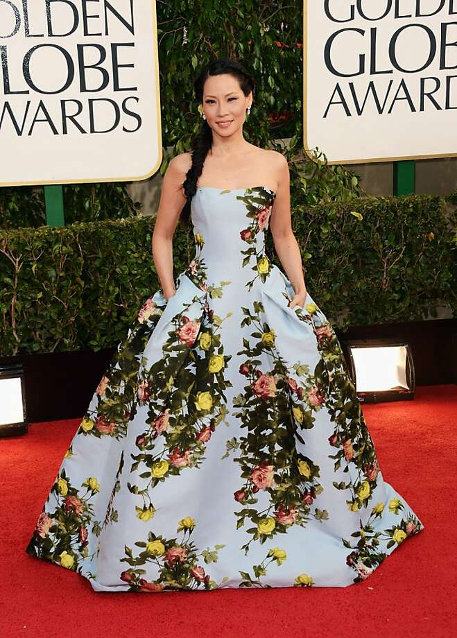 BEVERLY HILLS, CA - JANUARY 13:  Actress Lucy Liu arrives at the 70th Annual Golden Globe Awards held at The Beverly Hilton Hotel on January 13, 2013 in Beverly Hills, California.  (Photo by Jason Merritt/Getty Images) Photo: Jason Merritt, Getty Images