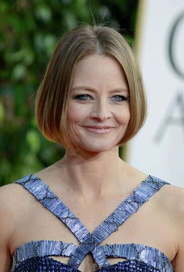 Actress Jodie Foster arrives at the 70th Annual Golden Globe Awards at the Beverly Hilton Hotel on S