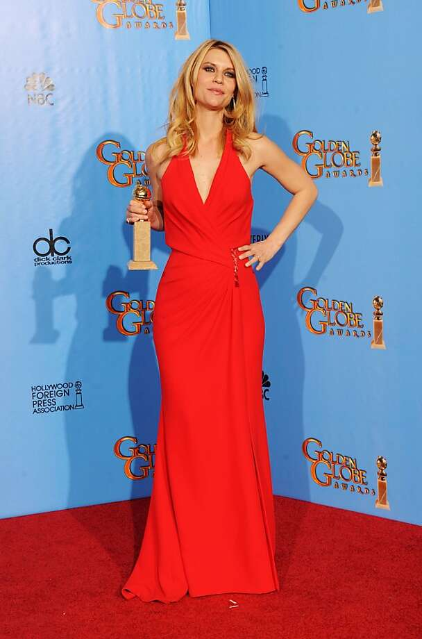 """Claire Danes was named best actress in a drama for Showtime's """"Homeland."""" Photo: Kevin Winter, Getty Images"""