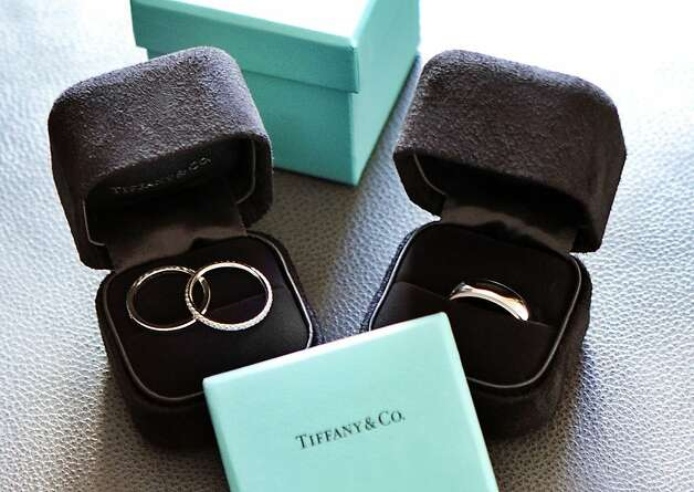 Tiffany wedding rings. Photo: Billy Winters, Www.billywinters.com/weddings