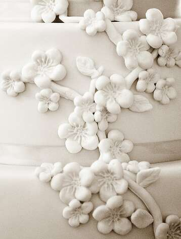 Wedding cake detail. Photo: Billy Winters, Www.billywinters.com/weddings