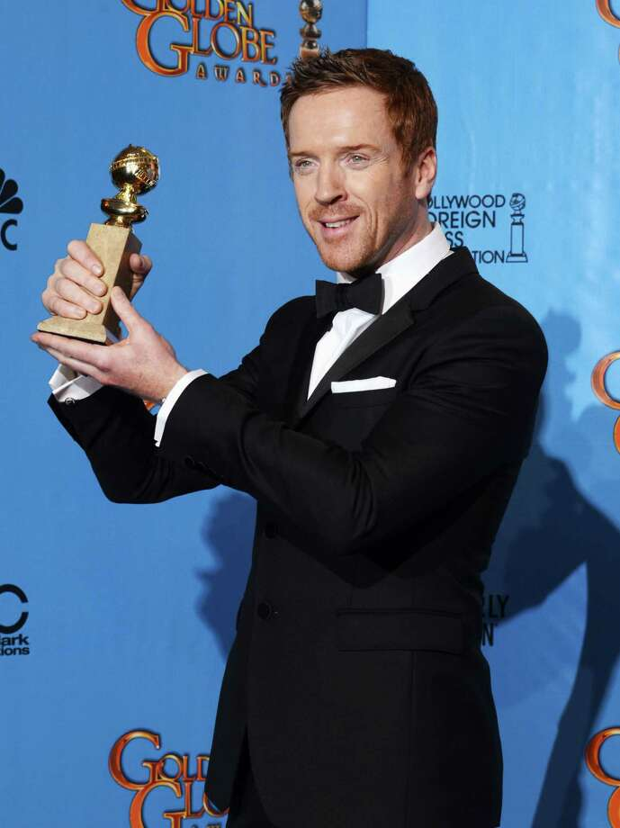 "Actor Damian Lewis, winner of Best Actress in a Television Show (Drama) for ""Homeland,"" poses in the press room during the 70th Annual Golden Globe Awards held at The Beverly Hilton Hotel on January 13, 2013 in Beverly Hills, California. Photo: Kevin Winter, Getty / 2013 Getty Images"