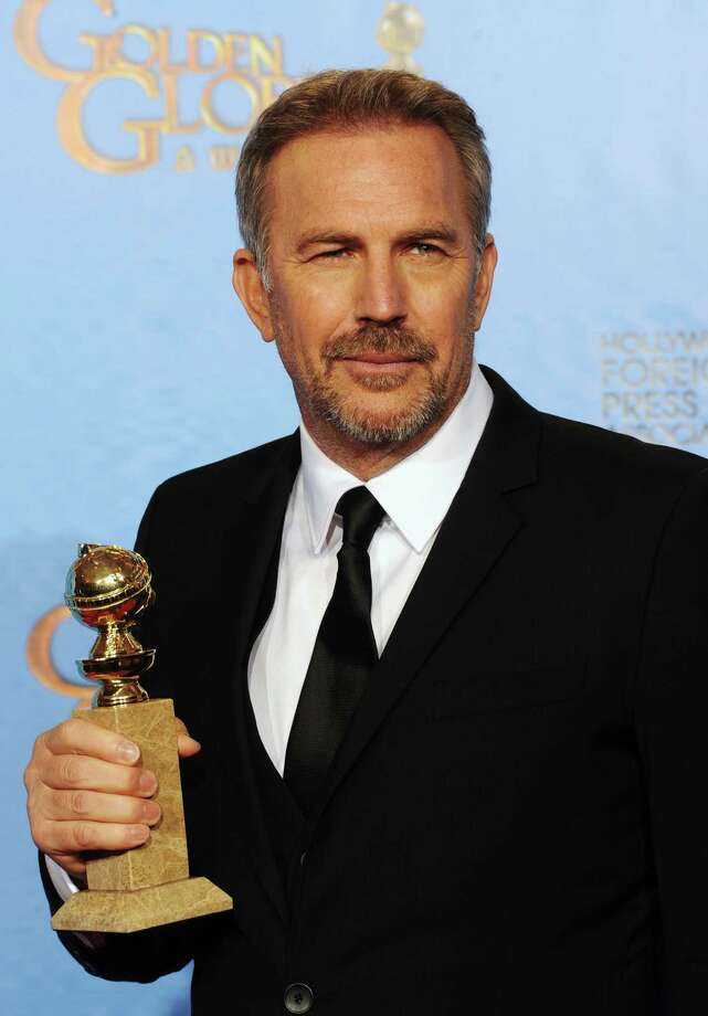 "Actor Kevin Costner, winner of Best Actor in a Mini-Series or a Motion Picture Made for Television for ""Hatfields & McCoys,"" poses in the press room during the 70th Annual Golden Globe Awards held at The Beverly Hilton Hotel on January 13, 2013 in Beverly Hills, California. Photo: Kevin Winter, Getty / 2013 Getty Images"