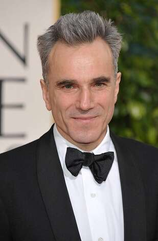 Actor Daniel Day-Lewis arrives at the 70th Annual Golden Globe Awards at the Beverly Hilton Hotel on Sunday Jan. 13, 2013, in Beverly Hills, Calif. (Photo by John Shearer/Invision/AP) Photo: John Shearer, Associated Press