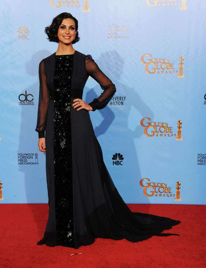 Presenter Morena Baccarin poses in the press room during the 70th Annual Golden Globe Awards held at The Beverly Hilton Hotel on January 13, 2013 in Beverly Hills, California. Photo: Kevin Winter, Getty / 2013 Getty Images