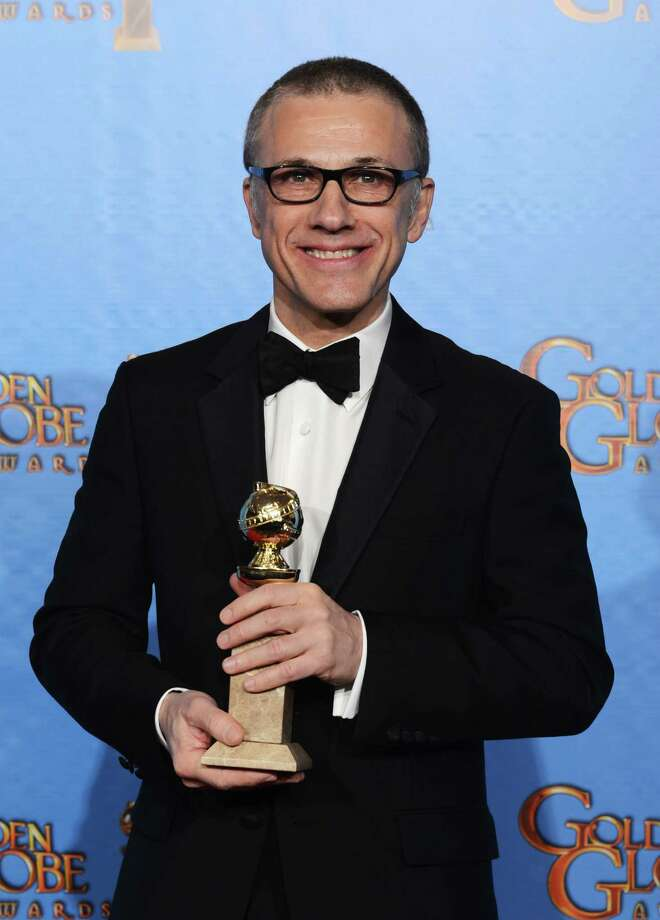 "Actor Christoph Waltz, winner of Best Supporting Actor in a Motion Picture for ""Django Unchained,"" poses in the press room during the 70th Annual Golden Globe Awards held at The Beverly Hilton Hotel on January 13, 2013 in Beverly Hills, California. Photo: Kevin Winter, Getty / 2013 Getty Images"