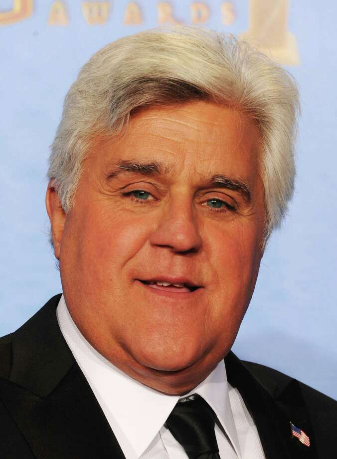 Presenter Jay Leno poses in the press room during the 70th Annual Golden Globe Awards held at The Beverly Hilton Hotel on January 13, 2013 in Beverly Hills, California. Photo: Kevin Winter, Getty / 2013 Getty Images