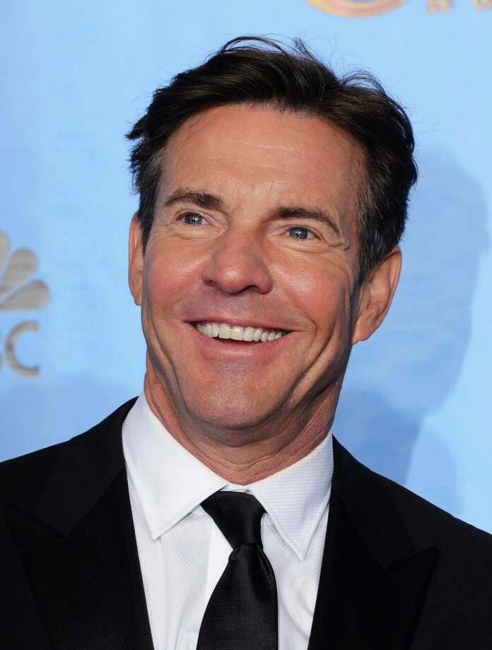 Presenter Dennis Quaid poses in the press room during the 70th Annual Golden Globe Awards held at The Beverly Hilton Hotel on January 13, 2013 in Beverly Hills, California. Photo: Kevin Winter, Getty / 2013 Getty Images