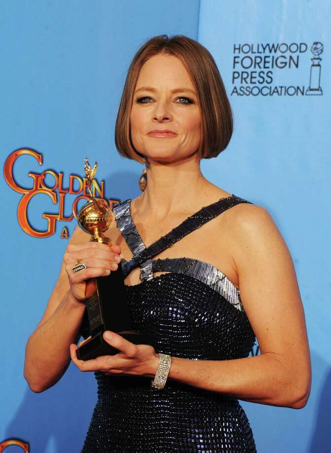 Actress-director Jodie Foster, winner of the Cecil B. De Mille Award, poses in the press room during the 70th Annual Golden Globe Awards held at The Beverly Hilton Hotel on January 13, 2013 in Beverly Hills, California. Photo: Kevin Winter, Getty / 2013 Getty Images