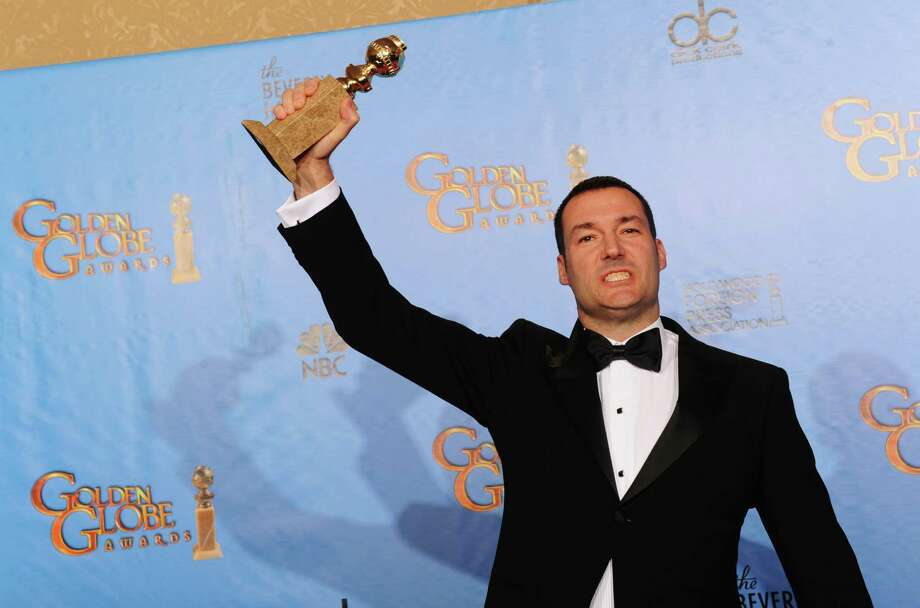 "Director Mark Andrews, winner of Best Animated Film for ""Brave,"" poses in the press room during the 70th Annual Golden Globe Awards held at The Beverly Hilton Hotel on January 13, 2013 in Beverly Hills, California. Photo: Kevin Winter, Getty / 2013 Getty Images"