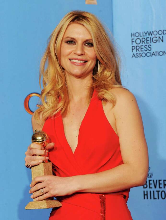 "Actress Claire Danes, winner of Best Best Actress in a Television Series (Drama) for ""Homeland,""poses in the press room during the 70th Annual Golden Globe Awards held at The Beverly Hilton Hotel on January 13, 2013 in Beverly Hills, California. Photo: Kevin Winter, Getty / 2013 Getty Images"