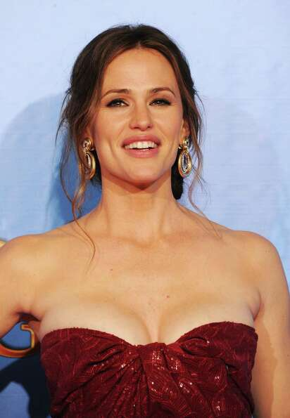 Actress Jennifer Garner poses in the press room during the 70th Annual Golden Globe Awards held at T