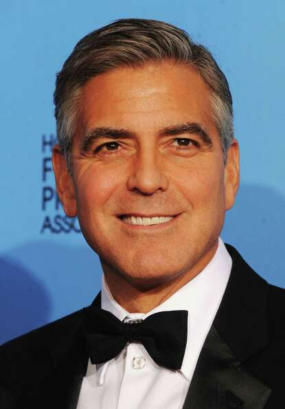 Producer George Clooney, winner of Best Motion Picture (Drama) for