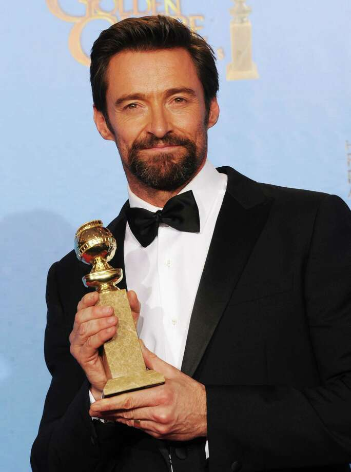 "Actor Hugh Jackman, winner of Best Actor in a Motion Picture (Musical or Comedy) for ""Les Miserables,"" poses in the press room during the 70th Annual Golden Globe Awards held at The Beverly Hilton Hotel on January 13, 2013 in Beverly Hills, California. Photo: Kevin Winter, Getty / 2013 Getty Images"