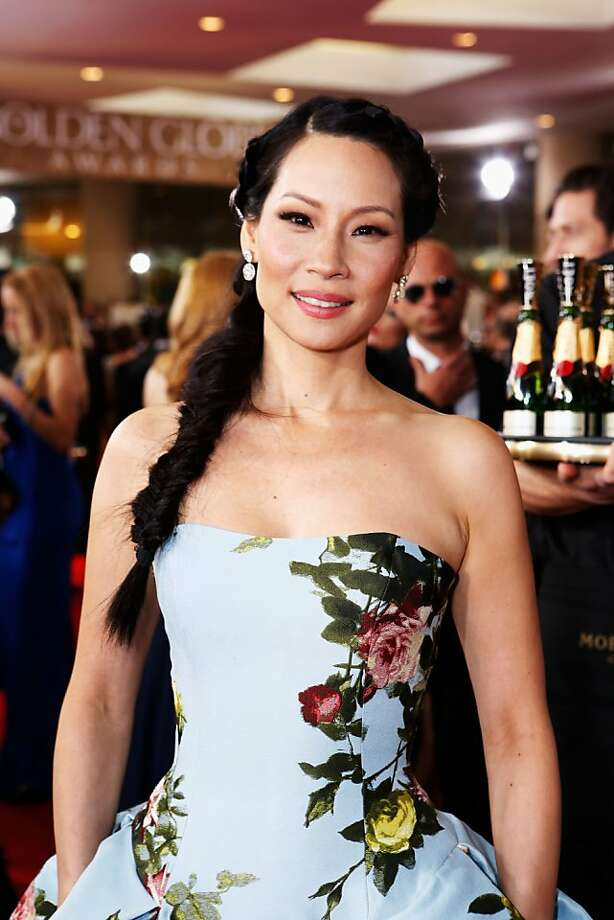 BEVERLY HILLS, CA - JANUARY 13:  Actress Lucy Liu arrives at the 70th Annual Golden Globe Awards held at The Beverly Hilton Hotel on January 13, 2013 in Beverly Hills, California.  (Photo by Alexandra Wyman/Getty Images for smartwater) Photo: Alexandra Wyman, Getty Images For Smartwater