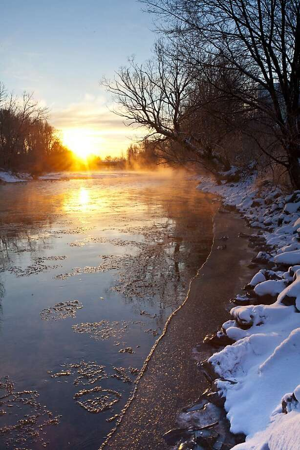 And apparently there's something completely different in the water in Boise, Idaho, which is America's least romantic city, according to Amazon. Photo: Chris Butler, Associated Press