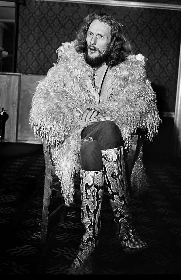 Flamboyant drummer Ginger Baker played with Eric Clapton in the 1960s supergroup Cream before settling in Nigeria. Photo: SnagFilms