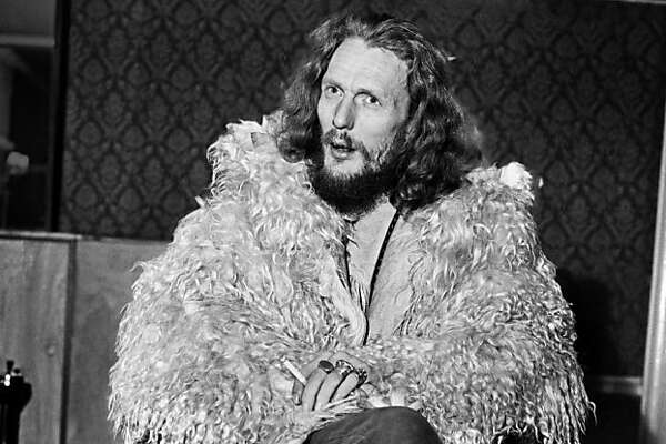 """Drummer Ginger Baker is the subject of """"Beware of Mr. Baker,"""" a documentary about the former member of Cream and Blind Faith bands. Pop's best drummer Ginger Baker former member of  the pop group Cream . January 1970 70-00001-004"""