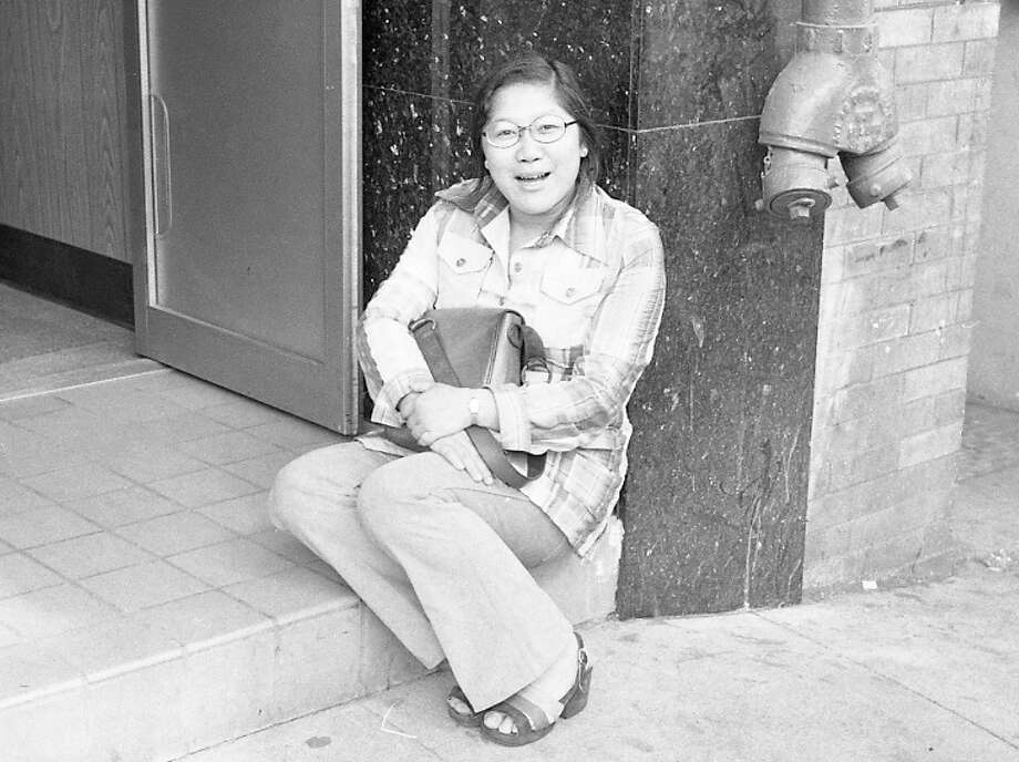 June 21, 1973: Rose Pak at age 25. I'm getting a strong Mary Tyler Moore vibe in this photo. She was working on some very high-profile stories about gang issues in Chinatown.