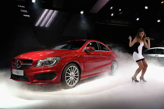 DETROIT, MI - JANUARY 13:  Mercedes-Benz introduces the 2014 CLA at the North American International Auto Show on January 13, 2013 in Detroit, Michigan. The auto show will be open to the public January 19-27. Photo: Scott Olson, Getty Images / 2013 Getty Images