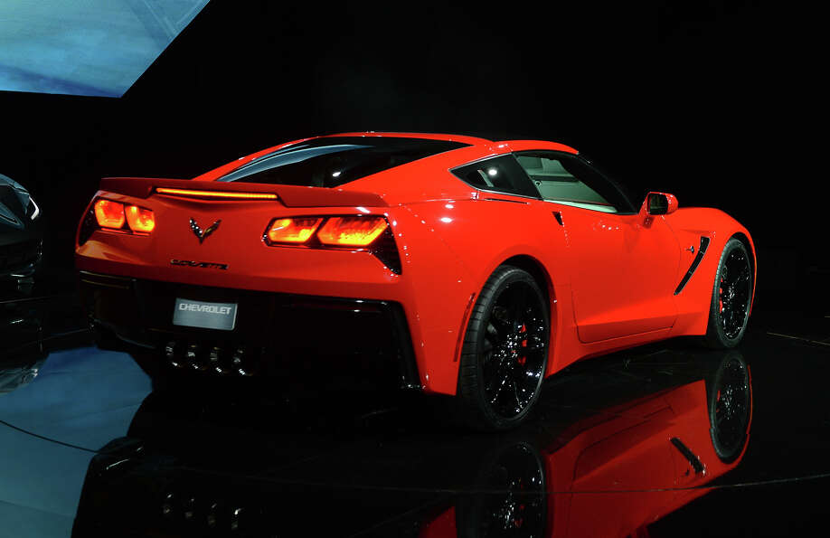 The redesigned 2014Chevrolet Corvette Stingray is introduced the night before press previews start a