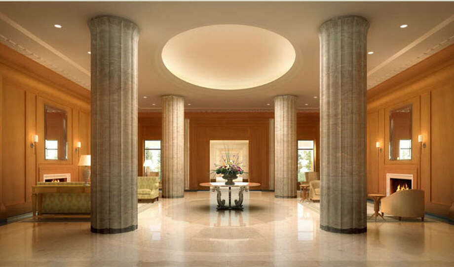 Lobby of 15 Central Park West