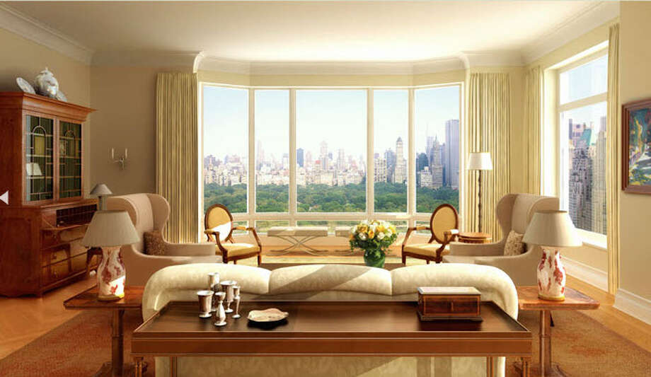 Model unit image from website of 15 Central Park West
