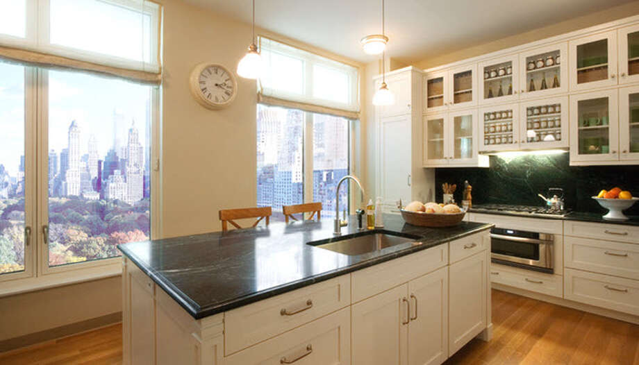 Model unit image of kitchen from website of 15 Central Park West