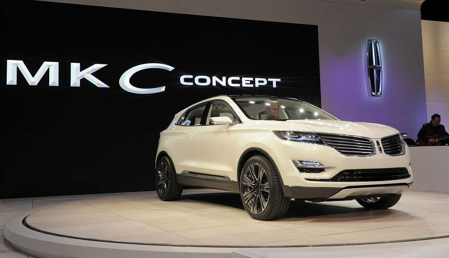 The 2014 Lincoln MKC Concept cross-over SUV is introduced at the 2013 North American International Auto Show in Detroit, Michigan, January 14, 2013. AFP PHOTO/Stan HONDA Photo: STAN HONDA, AFP/Getty Images / 2013 AFP