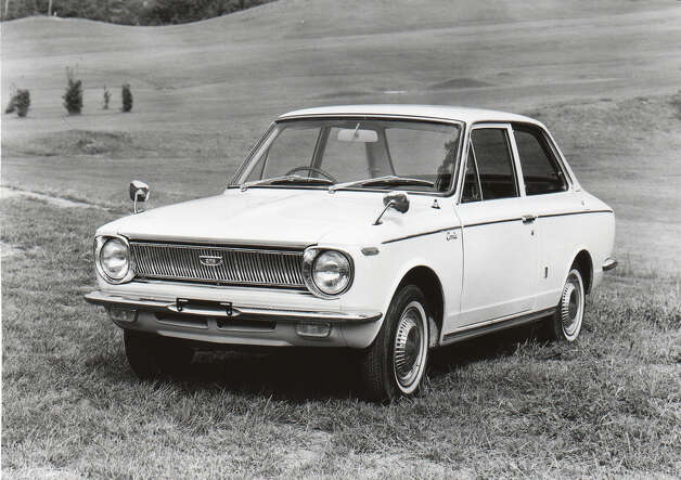 #1: In 1966 Toyota introduced the Corolla, which would come to be the most popular car ever with 37.5 million sold. (Photo, Toyota UK, via Flickr.com)