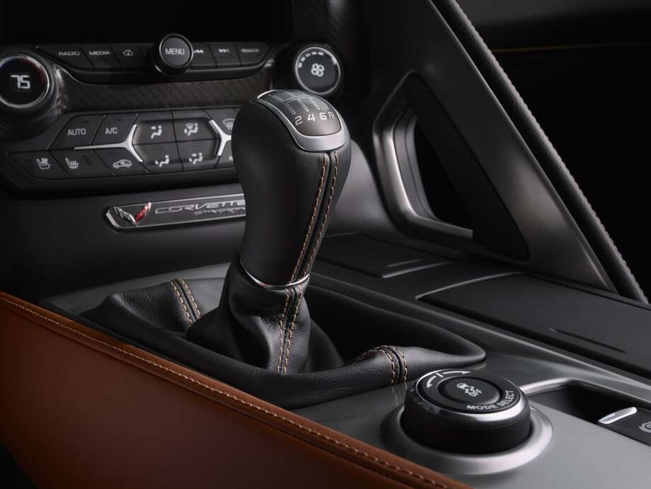 Improved transmission system: GM is taking some cues from other luxury car brands and giving owners the option of a seven-speed transmission. The upgraded transmission will only come on the more expensive package.Read moreabout the new Corvette. Photo: AP Photo/General Motors,  Alan Vanderkaay