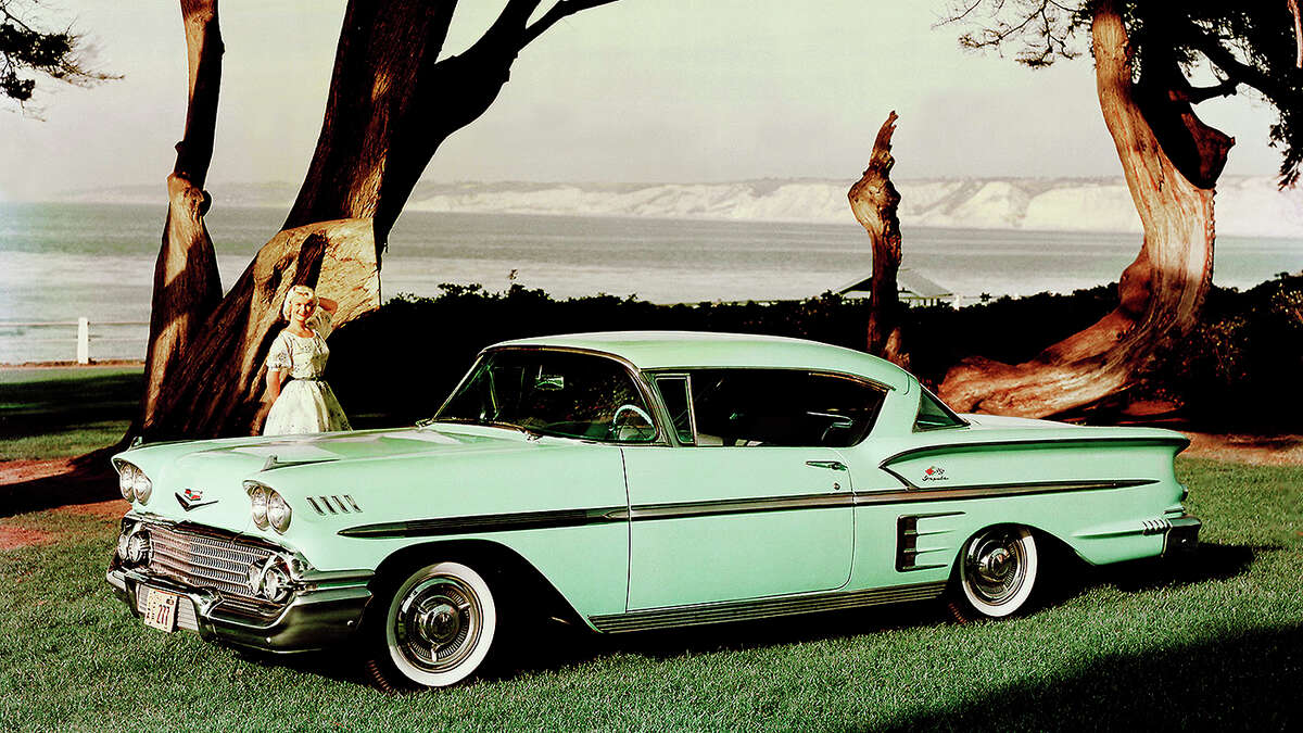 AutoGuide.com ranks the best selling cars of all time #10: In 1958 Chevrolet introduced the Bel Air Impala, since then Chevy has sold 14 million units. (Photo, General Motors)