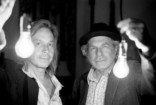 Jim Lauderdale (left) and Buddy Miller, leadign lights of Americana's Nashville wing, have recorded their first duets album. Photo: New West Records