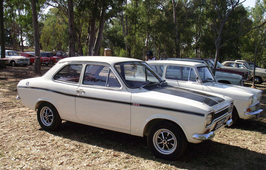 #5 The European Ford Escort was vastly more popular than the American version; it was introduced in 1968 and discontinued in 2000 but still remains the fifth best-selling car of all time with 20 million units sold.(Photo, Basic Transporter via Flickr.com)