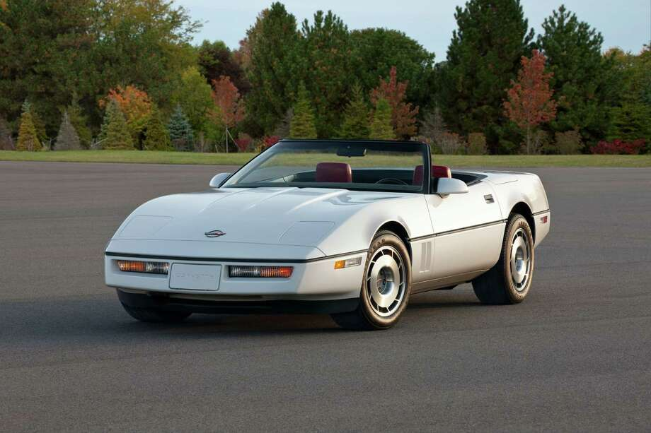 Corvette C4: In 1983, the fourth generation of the Corvette was introduced (an '87 model is pictured). It was produced until 1996. Photo: Alan Vanderkaay, General Motors