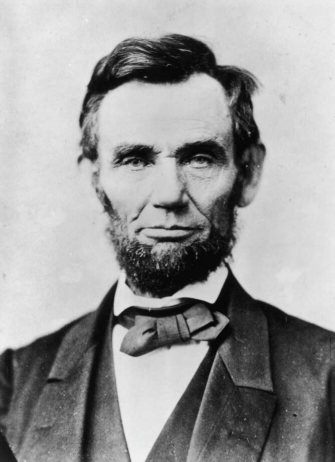 "Abraham Lincoln is remembered for many things, but not usually for the creation of the word ""relocate."" Photo: Alexander Gardner, Getty Images / Hulton Archive"