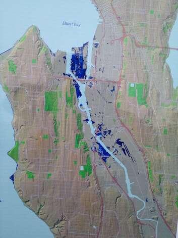 Rising Sea Levels Will Put Seattle Neighborhoods Under