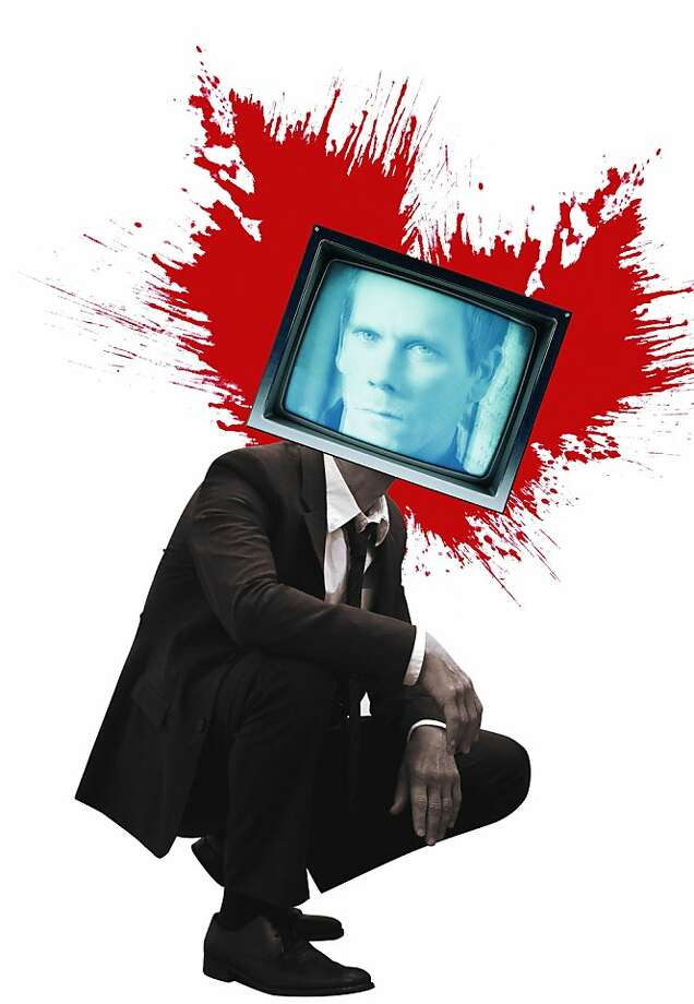 "Kevin Bacon stars in ""The Following,"" a network thriller awash in gore. Photo: Erick Wong, The Chronicle"