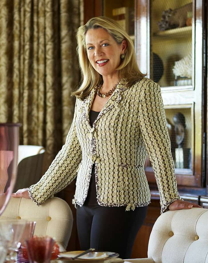 Suzanne Tucker is the owner of Tucker Home, founded in 2010, and Tucker & Marks, which she started with partner Timothy Marks. Photo: Michal Venera, SFC