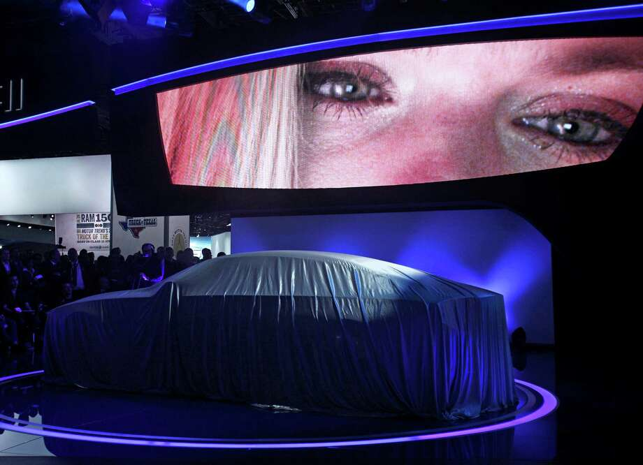DETROIT, MI - JANUARY 14: The Hyundai HCD-14 concept vehicle is revealed at the 2013 North American International Auto Show media preview at the Cobo Center January 14, 2013 in Detroit, Michigan. Approximately 6,000 members of the media from 68 countries are attending the show this year. The 2013 NAIAS opens to the public  January 19th. Photo: Bill Pugliano, Getty Images / 2013 Getty Images