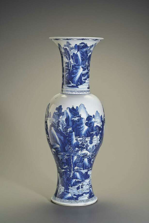 A Yen Yen Vase from the Qing dynasty is one of the highlights of the San Antonio Museum of Art's Asian collection Photo: San Antonio Museum Of Art