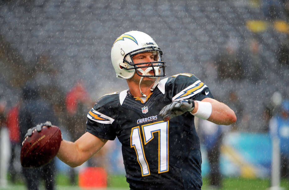 AWAYSan Diego (7-9)The Chargers haven't named their coach yet but Philip Rivers is still entrenched at QB although he had a down season in 2012. Photo: Denis Poroy, Associated Press / FR59680 AP
