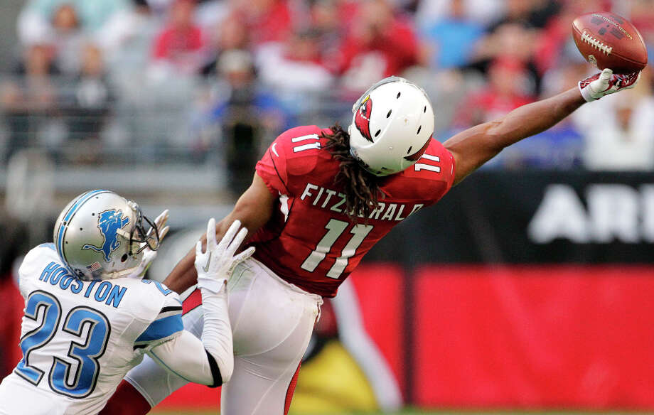 AWAYArizona (5-11)Plenty of off-season questions remain unsolved – coach and quarterback are at the top of the list – but at least WR Larry Fitzgerald is under contract through 2019. Photo: Matt York, Associated Press / AP