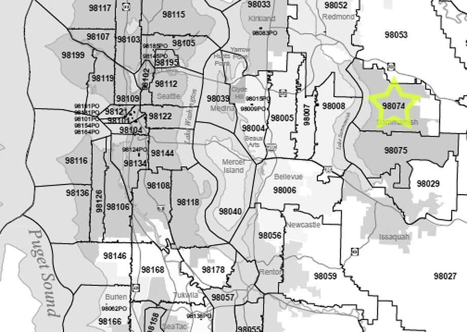 4. 98074: The median family income in this Sammamish-area ZIP code was $139,964. Photo: /