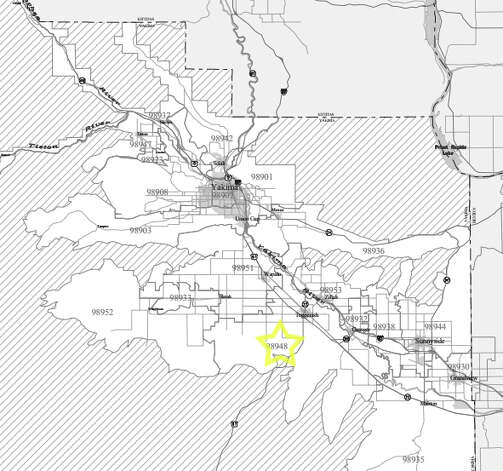 4. 98948: The median family income in this Yakima-area ZIP code was $34,533. Photo: /