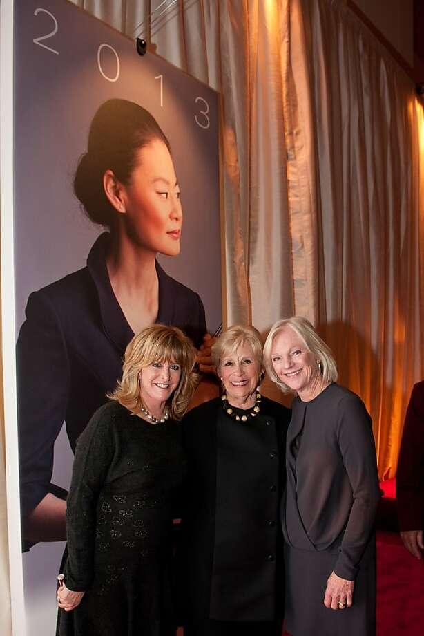 Betsy Matteson (left), Linda Meier and Bren Leisure Photo: Steve Castillo