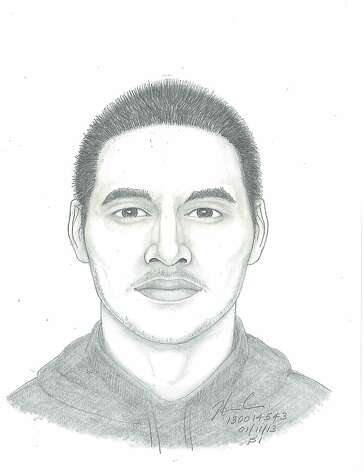 The man depicted in this police sketch attempted to sexually assault a woman in San Francisco's Mission District on Jan. 6, 2013. Photo: Courtesy SFPD, SFPD