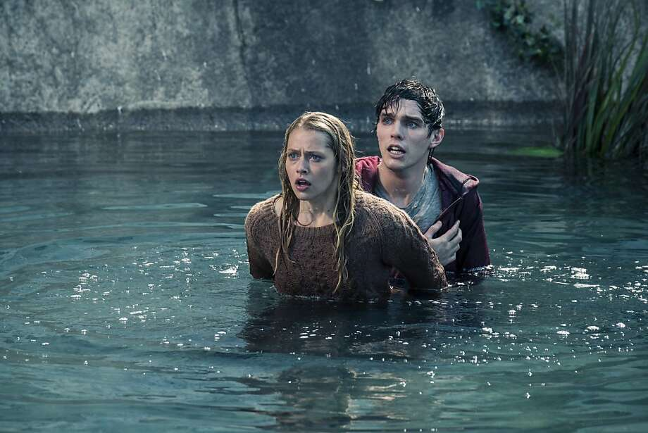 Teresa Palmer stars as a human girl romancing an undead boy, played by Nicholas Hoult. Photo: Summit Entertainment