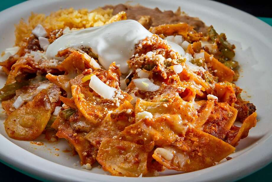 Chilaquiles at the Mission's home-style San Jalisco. Photo: John Storey, Special To The Chronicle