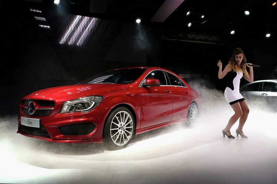 DETROIT, MI - JANUARY 13:  Mercedes-Benz introduces the 2014 CLA at the North American International Auto Show on January 13, 2013 in Detroit, Michigan. The auto show will be open to the public January 19-27. Photo: Scott Olson, . / 2013 Getty Images